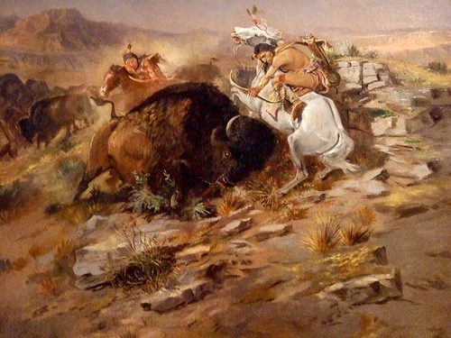 Indian Buffalo Hunt Charles Marion Russell