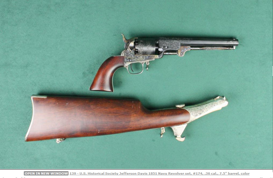 Jefferson David Colt 1851 Navy 3